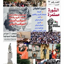 The Forum of Sudanese Twitter users publishes roundups of anti-government protests