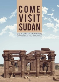 Imagining a future Sudan: a poster welcoming tourists to the country